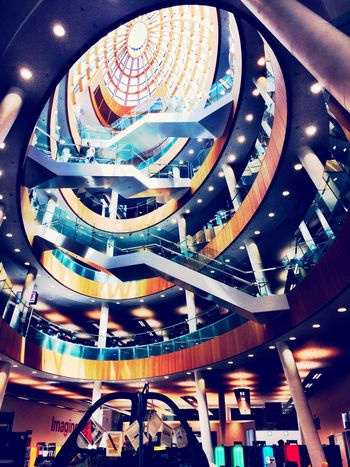 Central Library in Liverpool Architecture Liverpool Merseyside Stairs Indoors  Library