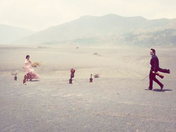What Does Music Look Like To You? Mount Bromo, East Java - Indonesia Musicianlife Love In The Air