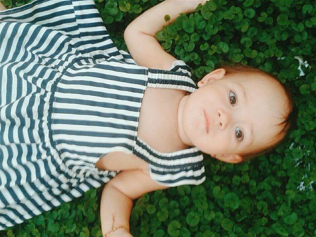 Innocence Baby In Nature Babygirl Amatuer Photographer Amaturephotography Gress!