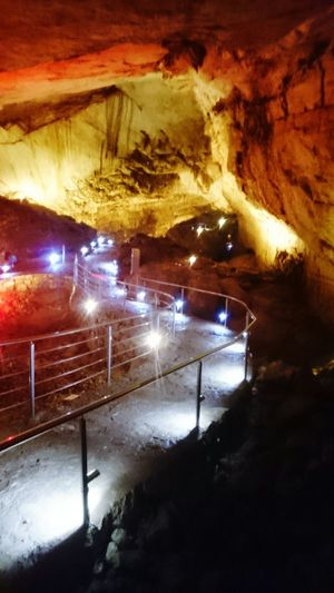Vjetrenica ZAVALA Bosnia And Herzegovina Cave Bosnia Herzegovina Illuminated Night Rock - Object Road Rock Formation Cave Mine Industry Mining Geology Outdoors Stone Material Rock Tunnel Tranquility TakeoverContrast My Year My View