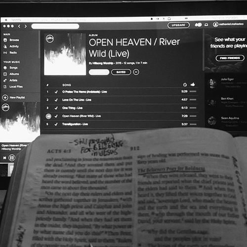 living water river wild in me immerse me in Your mercy open heaven crashing over me restore me in Your glory NoSleepTillConference Hillsongworship Thursdaynights OpenHeavenRiverWild Spotify Biblestudy VSCO Vscocam