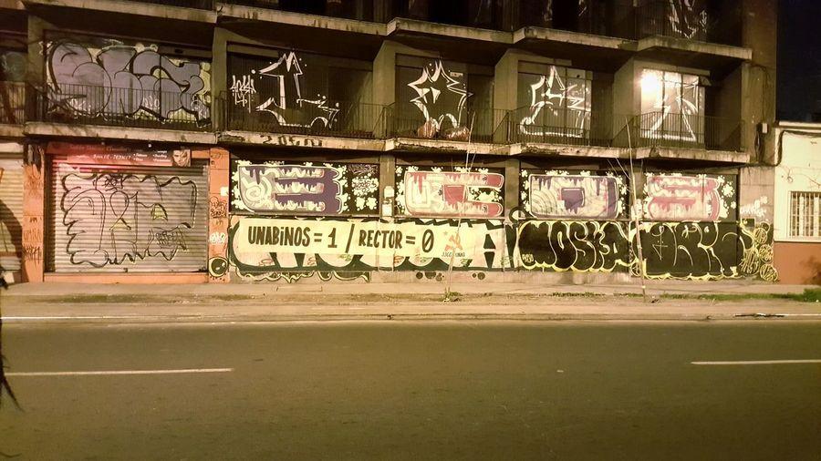 Unab UniversidadAndresBello Barriorepublica Santiago De Chile Santiago Building Abandonado Ruinaurbana Urbano Street Calle Edificio Chile Lucha Estudiantes