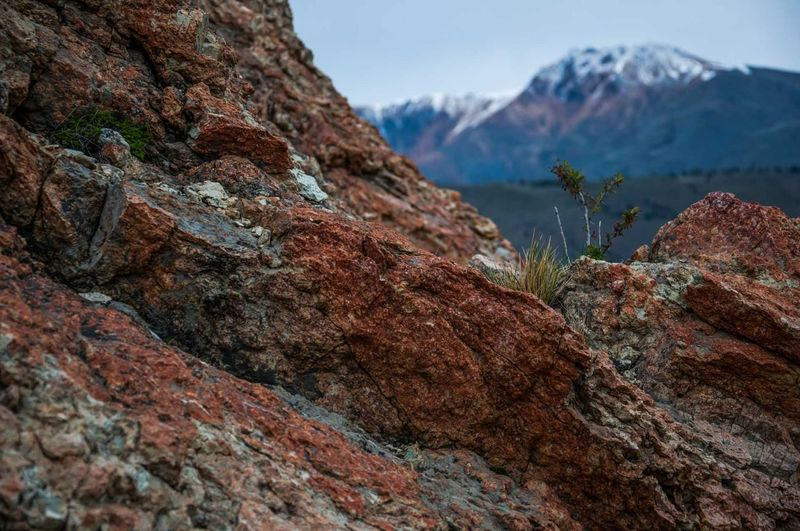 Landscape near to Esquel, Chubut, Argentina. Beauty In Nature Close-up Day Hiking Horizontal Landscape Mountain Nature No People Outdoors Rock - Object Sky Tree