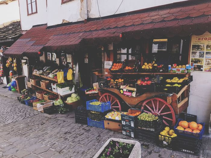 Market Supermarket Bulgaria Tryavna Colors Vegetables Fruits Fruits And Vegetables Street Streetphotography City Urban Price Tag Market Consumerism Store Bicycle Retail  Choice For Sale Market Stall Street Market Shop Farmer Market