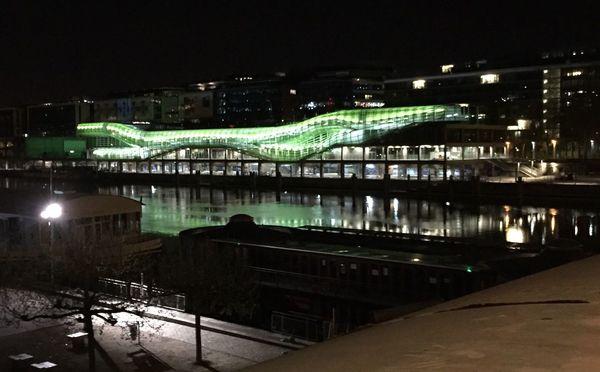 Bridges Nightphotography Night Lights Water Reflections Reflection