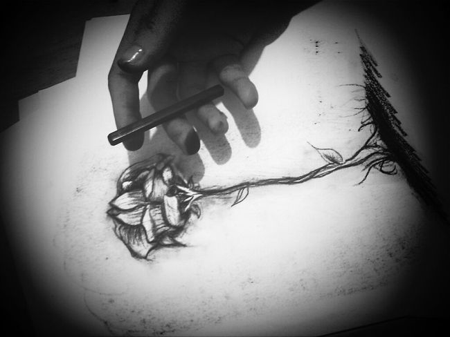 charcoal fail. Charcoal Drawing My Drawing Fortheloveofblackandwhite Getting My Hands Dirty