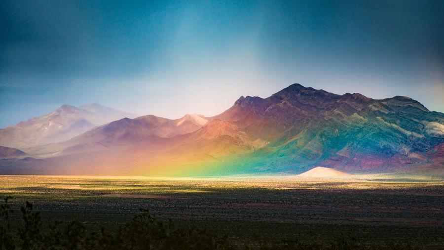 Rainbow on the