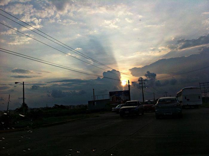 esta mañana Clouds Sun