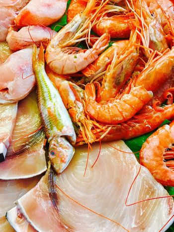 Pesce fresco Seafood Food And Drink Food Freshness Healthy Eating Prawn Raw Food No People Indoors  Shrimp Close-up Market Lobster Day