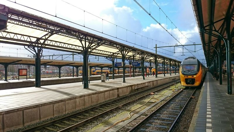 Discover Your City, Railway Station, Groningen, Urban Photography Vanishing Point.