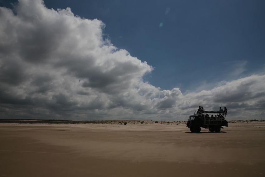 Beach Cabo Polonio Cloud - Sky Coast Land Vehicle Sky Transportation Travel Uruguay