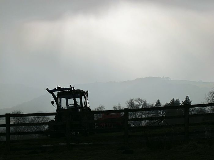 Fog Silhouette Dramatic Sky Tranquility Scenics Sky Beauty In Nature Outdoors Landscape No People Storm Silence Of Nature Cold Temperature Beauty In Nature Tranquil Scene Outdoors Winter Tractor Love Eyeemphotography EyeEmbestshots Fine Art Photograhy Valleyside Change Agriculture Tranquil Scene Idyllic Rural Scene