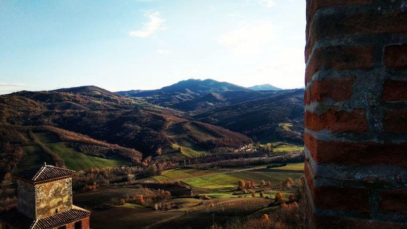 Mountain Landscape Nature Scenics No People Rural Scene Mountain Range Castle Roadtrip MedievalTown