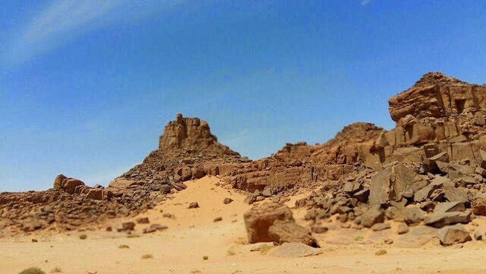 Tabuk Arabian Peninsula Desert Travelling Saudi Arabia On The Road Family Trip