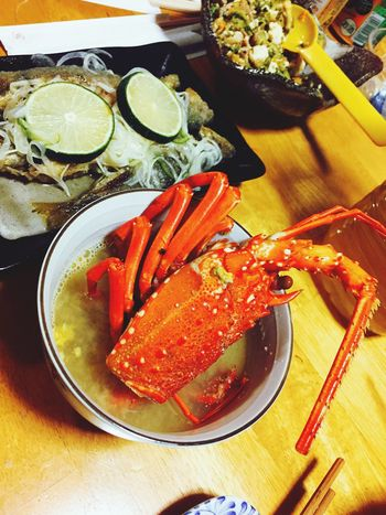 Miso Soup Delicious ♡ Seafood Spiny Lobster Japanese Food Happiness