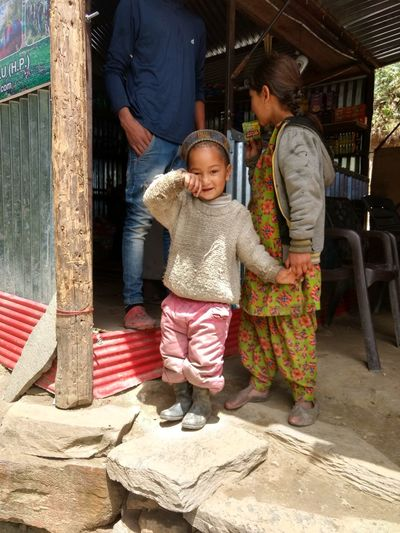 confortment should fashion...... shy little boy wearing whole clothes form foot to head as per high altitude condition....n on the head traditional kangra cap The Fashion Photographer - 2018 EyeEm Awards Childhood Full Length Togetherness Child Baby Front View Baby Clothing One Baby Girl Only Summer Road Tripping The Portraitist - 2018 EyeEm Awards