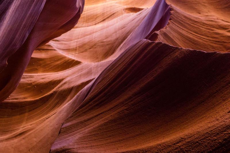Full frame shot of canyon
