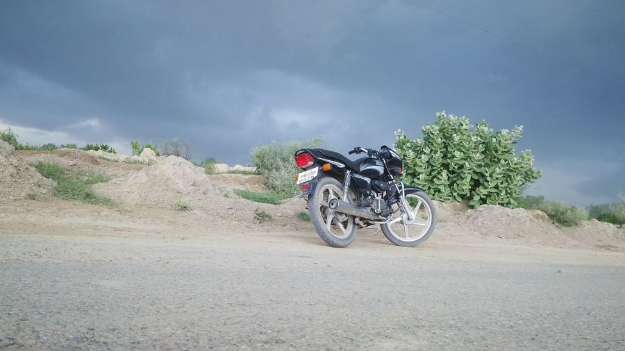 No_edits Motorcycle Cloud - Sky Natures' Beauty
