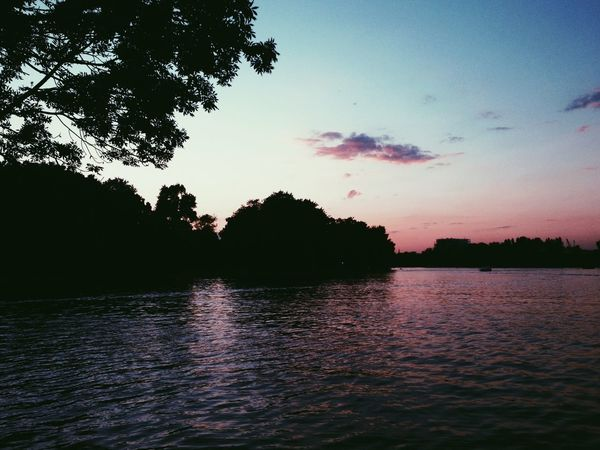 Berlin Summer Vibes Boating Sunset