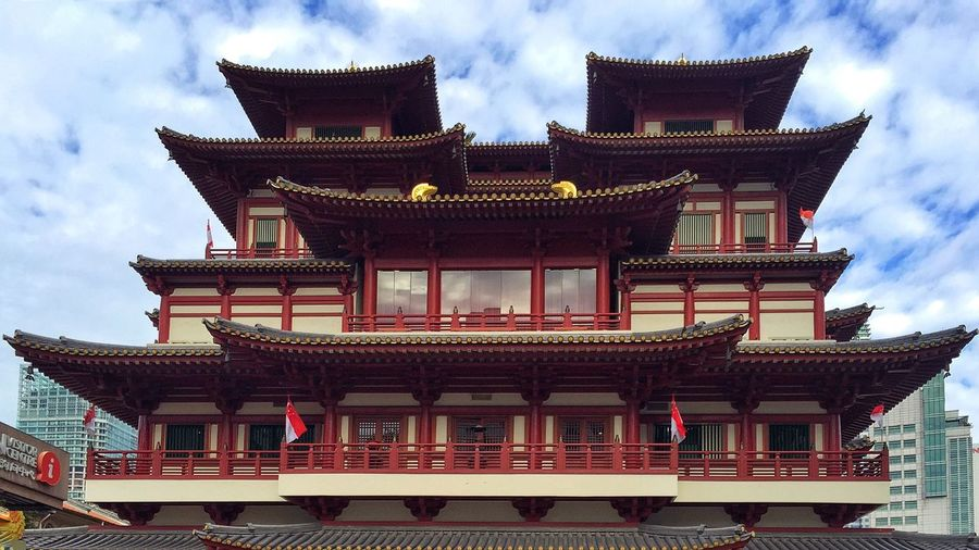 Chinese Temple Architecture