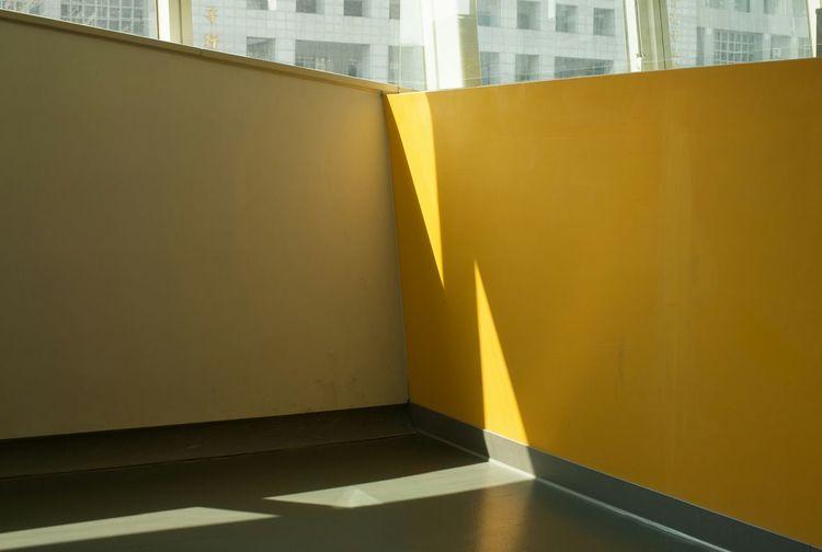 Sunlight Falling On Surrounding Wall