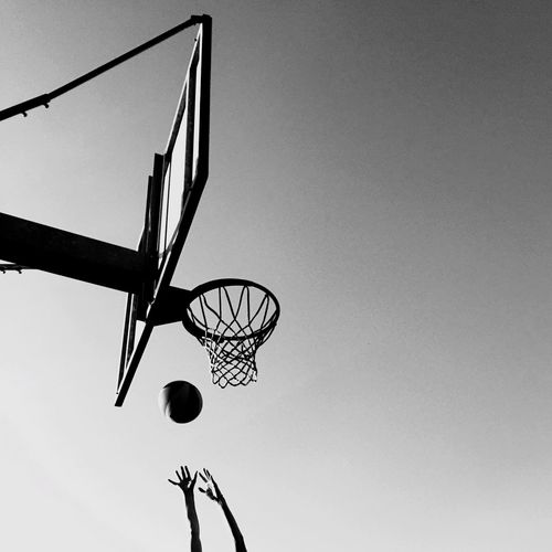 Playing basketball The Best First Basketball Victory Playing Goal Conceptual Ball Basket Concentration Pallacanestro Basketball Play Win Victory Basketball - Sport Basketball Hoop Net - Sports Equipment Sport Sky Low Angle View Ball Silhouette Playing Basketball - Ball Court Outdoors