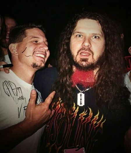 Another year has gone by since you've passed and I still don't miss you any less brother. RIP DIMEBAG DIMEBAGDARRELL Pantera Mesa Amphitheater Backstage Hanging Out Check This Out That's Me Enjoying Life Taking Photos 1997
