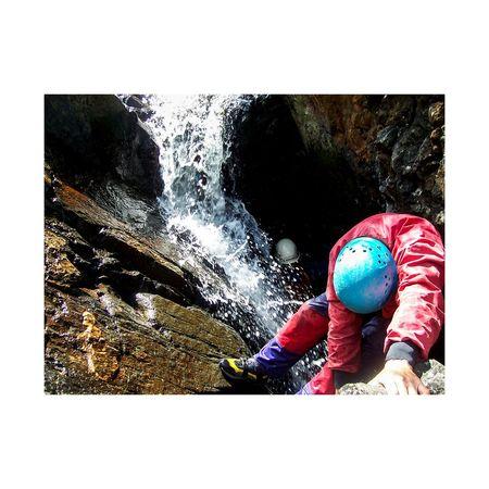 Gorgewalking Wales River Waterfall Kodakcamera Water People Close-up A New Perspective On Life