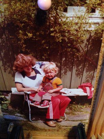 Mamma & jag Barndom
