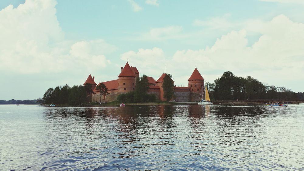 Castle Historical Building Traveling Summer