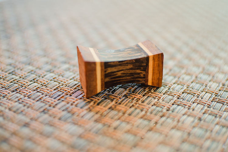 Close-Up Of A Wooden Object