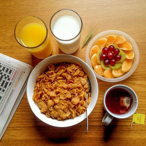 Food Breakfast Breakfast Time Cornflakes MILK AND CEREAL CEREAL AND MILK Orange Juice  Fruits 43 Golden Moments Crossword Colour Photography Food Photography Eyeem Market EyeEm Gallery EyeEmBestPics The Week On Eyem Food Collection Eyeem Marketplace