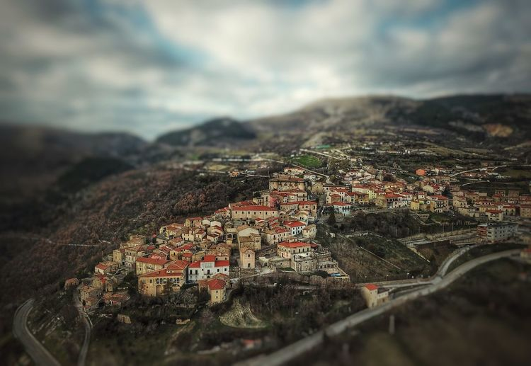 Macchiagodena, Molise - Italy Aerial Photography Day No People Architecture Outdoors Built Structure Sky Mountain