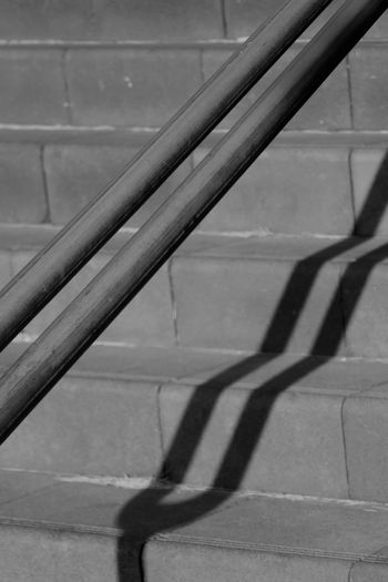 Street Street Photography Shadow Architecture Day No People Railing Sunlight Pattern Staircase Outdoors Metal Footpath Close-up