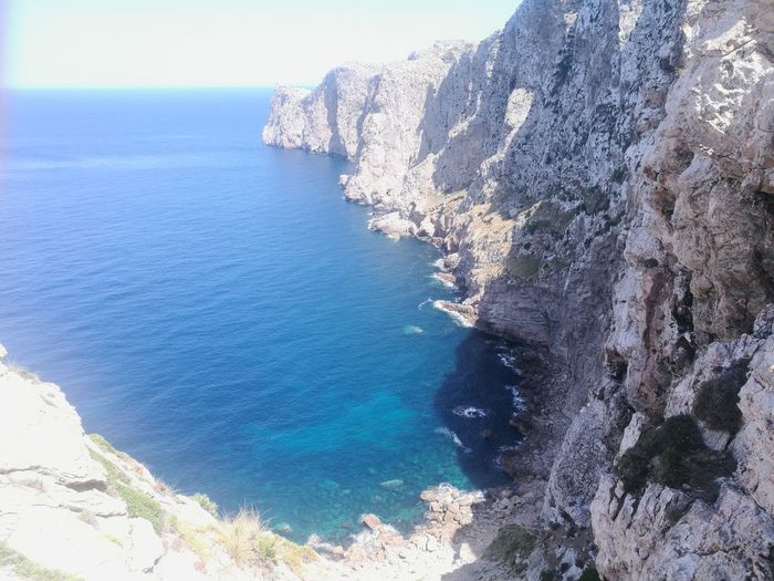 Mallorca Capformentor Nature Beach Water Sea Outdoors Beauty In Nature Vacations Summer No People Tranquility Blue Sky Day HuaweiP9Photography Huawei P9 Leica HuaweiP9 Eauclaire Mallorcaisland Nature Travel Destinations Scenics Horizon Over Water Swimming Pool