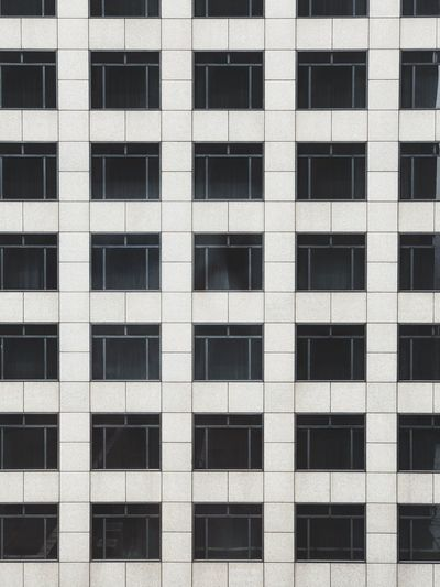 Window Grid Full Frame Built Structure Architecture Building Exterior Window Backgrounds Pattern Modern Repetition Outdoors Design Glass - Material City Square Shape