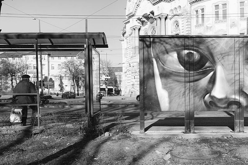 Eye Streetphoto Streetphoto_bw Street Monochrome Streetphotography Street Portrait Bw UNPOSED Candid Blackandwhite Photography Lensculture Timisoara Romania Citylife Sorin Old Showcase: January Showcase : January January The Street Photographer - 2015 EyeEm Awards