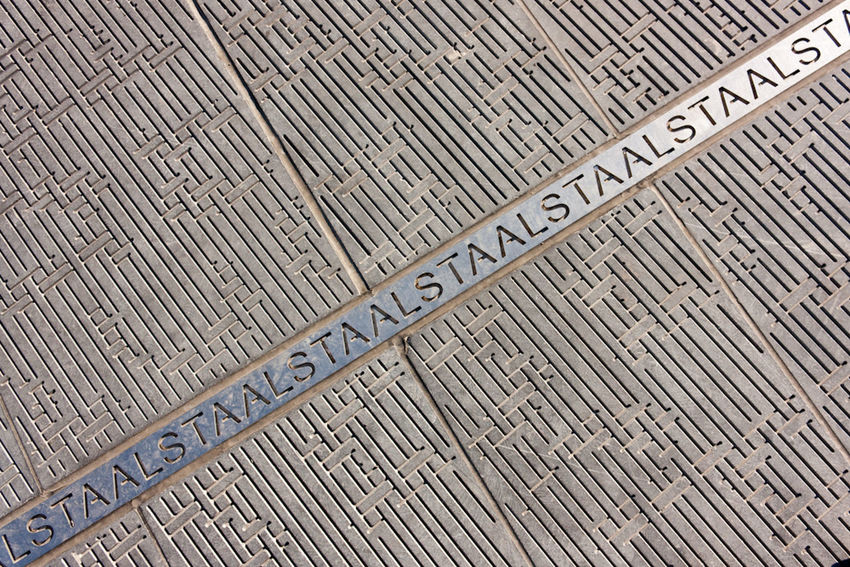 Aalst Backgrounds Close-up Day Detail Full Frame LINE No People Outdoors Pattern Steel Textured