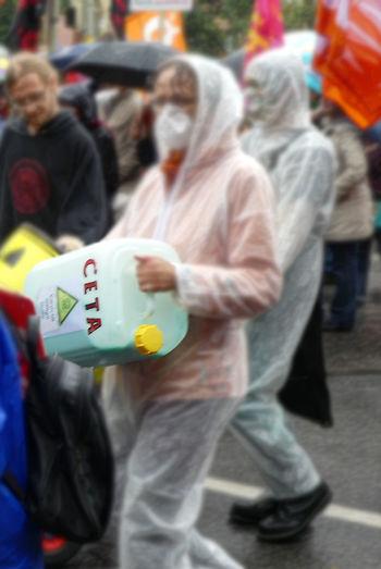 Cetademo Demo Demonstration Mask - Disguise Poison Stopceta Ttip Ttipdemo Ttipmunich