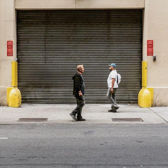 The Sidewalk Across - 238 W 40th Street NY, NY. Streetphotography NYC Midtown Recentwork 50mm people urban sidewalkacross