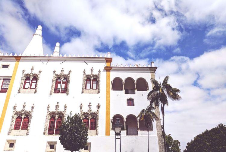 Sintra (Portugal) Sintra Palacio Nacional De Sintra Tourism Historic