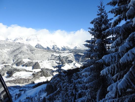 Beauty In Nature Cold Temperature Day Mountain Nature No People Outdoors Scenics Sky Snow Tranquility Tree Winter