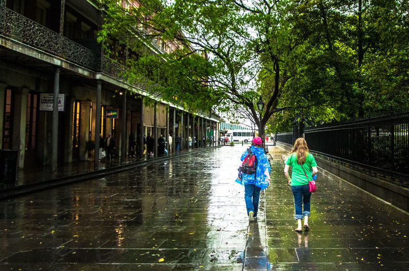 I'm singing in the rain...🎵 Walking In The Rain Walking Raining Raining Day Raining Outside Rain Rainy Days New Orleans French Quarter Cajun Let The Good Times Roll