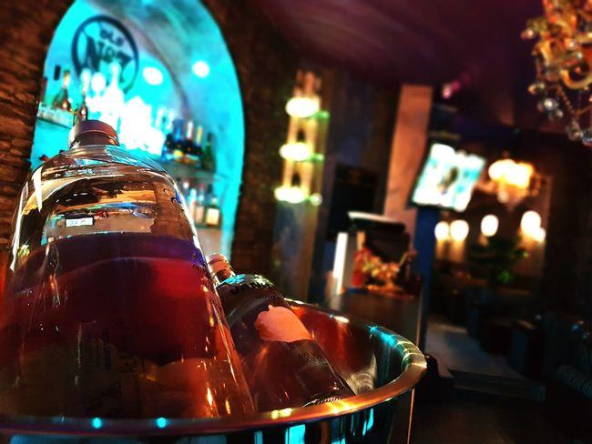 Night Focus On Foreground Alcohol Close-up Nightlife Photography EyeEm Best Shots EyeEm ShishaLounge Illuminated Indoors  Multi Colored Crystal Glassware