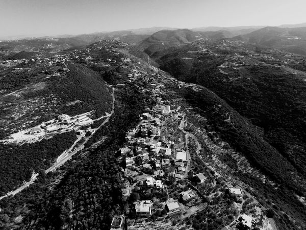 Mountain Nature Beauty In Nature Landscape Tranquility Tranquil Scene Scenics Non-urban Scene Outdoors Day Geology Sky No People Mountain Road Black & White Black&white EyeEm EyeEm Gallery EyeEm Best Shots Wolrd Country Architecture Houses Drone  Dronephotography EyeEmNewHere