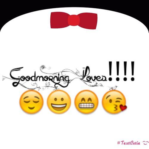 Morning Say It Back ;)