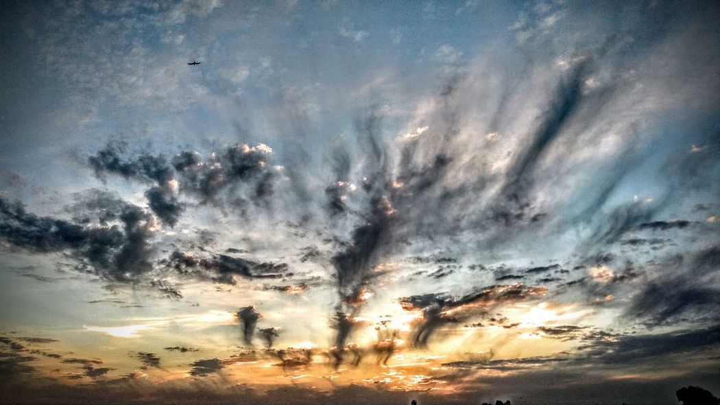 Sky Dramatic Sky Backgrounds Nature Cloud - Sky Outdoors Low Angle View Sunset Scenics Flying No People Milky Way Beauty In Nature Night Galaxy Star Trail Close-up Sundown Lost In The Landscape Dramatic Sky Beauty In Nature Mid-air Smoke Photography Smoky Sunset Smoky Skies EyeEmNewHere