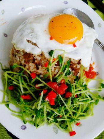 FRIEDRICE WTH EGG DAO MIOA ...Homecooked Foodphotography .. Healthy