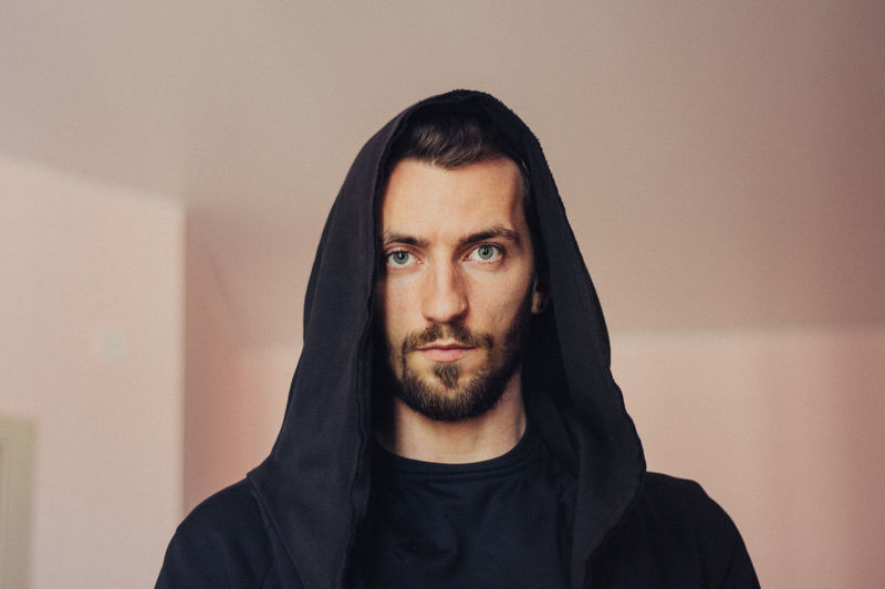 Beard Facial Hair Portrait Front View Headshot One Person Indoors  Looking At Camera Real People Young Men Young Adult Mid Adult Men Mid Adult Men Lifestyles Casual Clothing Focus On Foreground Handsome Mustache Hairstyle Contemplation