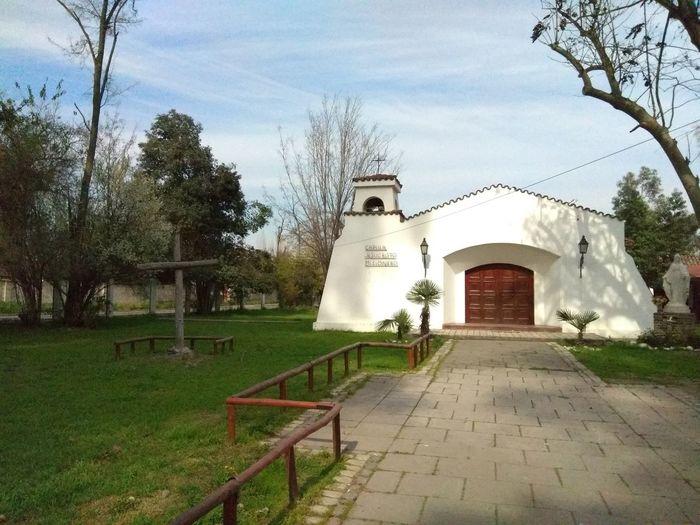 CapillaJesucristoMisionero camino el Bosque , antiguos terrenos familia Gandarillas